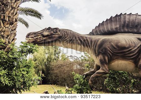Ancient Extinct Dinosaur Spinosaurus