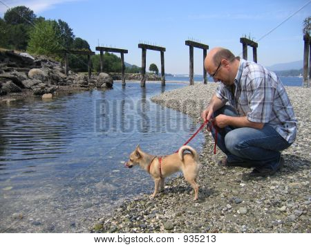 Men And His Dog