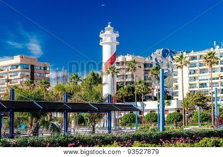 View Of The Marbella Resort City