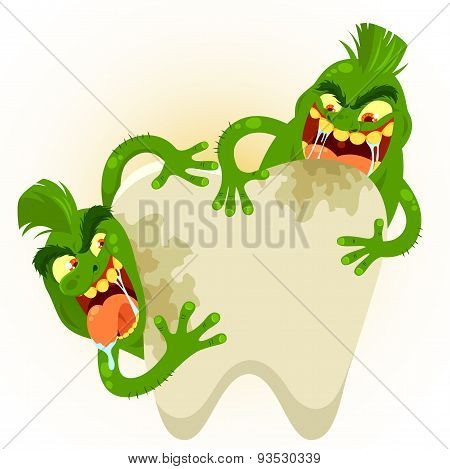 funny tooth germs