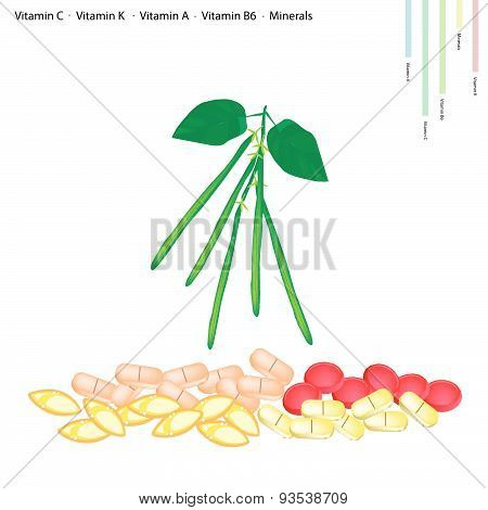 Green Beans With Vitamin C, K, A And B