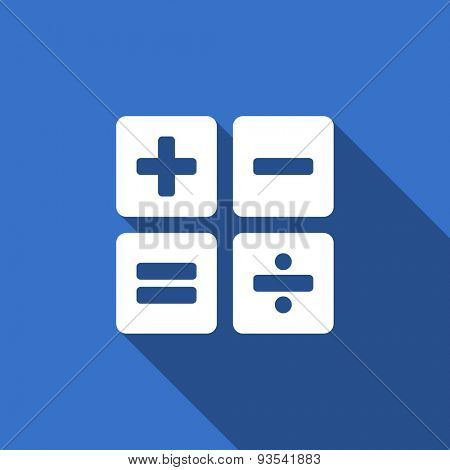 calculator flat icon calc sign