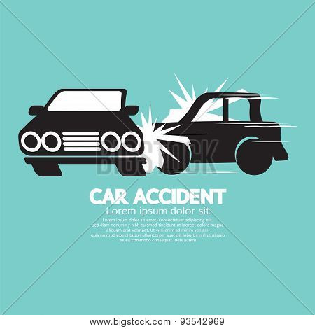 Two Cars In An Accident.