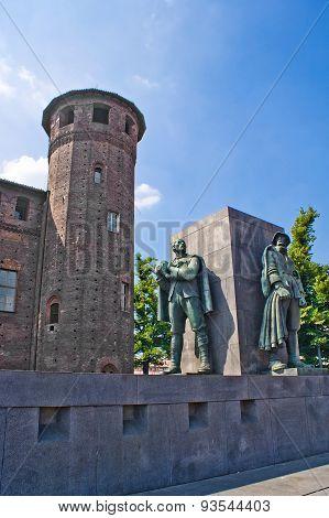 Tower Of Madama Palace, Torin