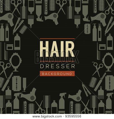 Hair Dresser Background.