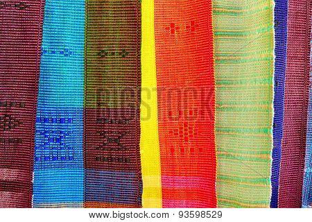 Thai native fabric in Chiangmai