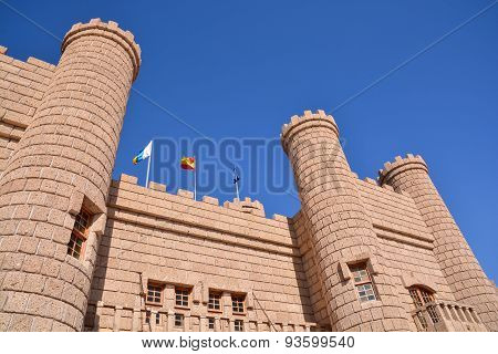 Medieval Brown Castle