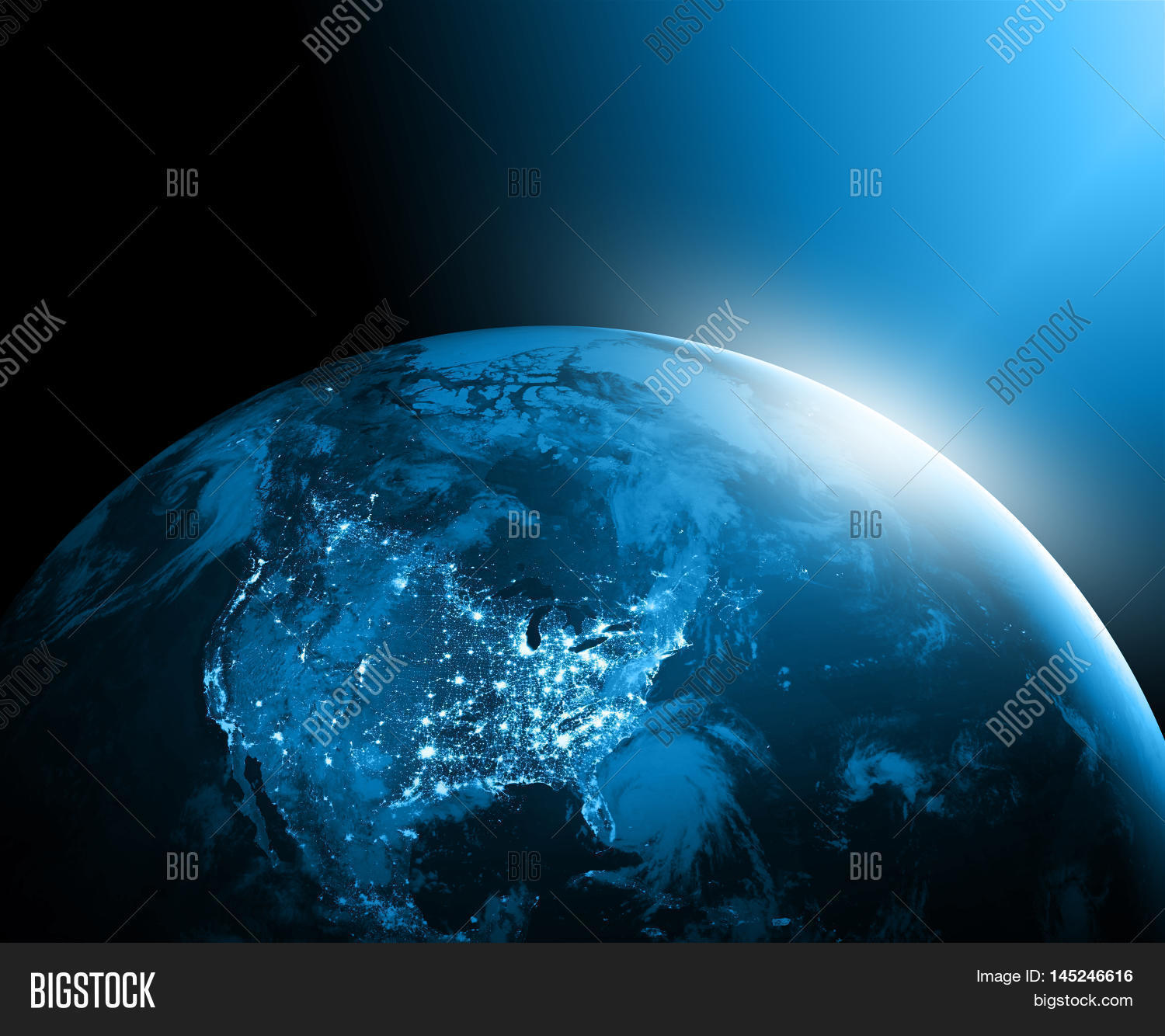 World map on technological image photo bigstock world map on a technological background america best internet concept of global business gumiabroncs Gallery