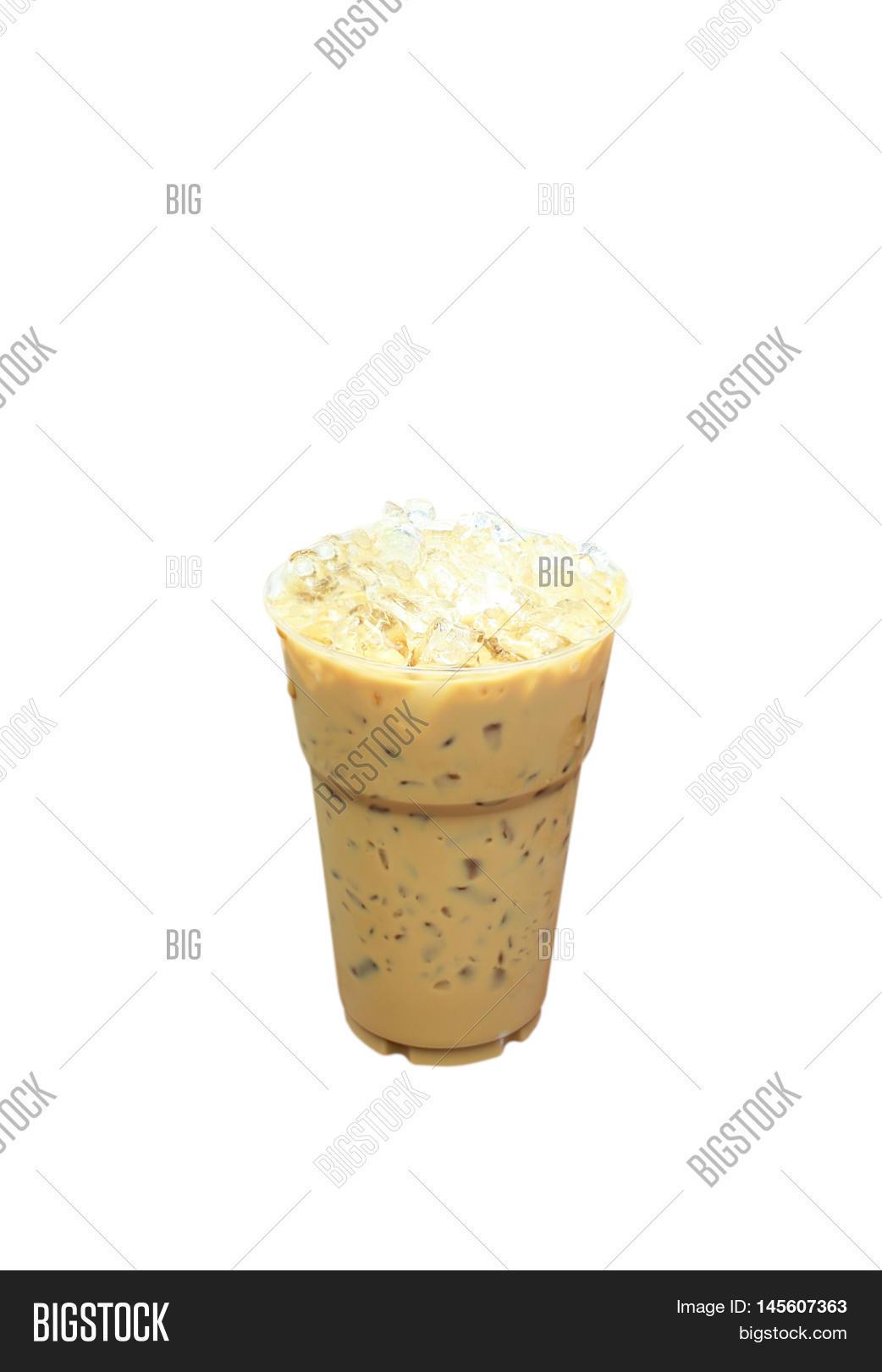 Iced Coffee Plastic Image Photo Free Trial Bigstock
