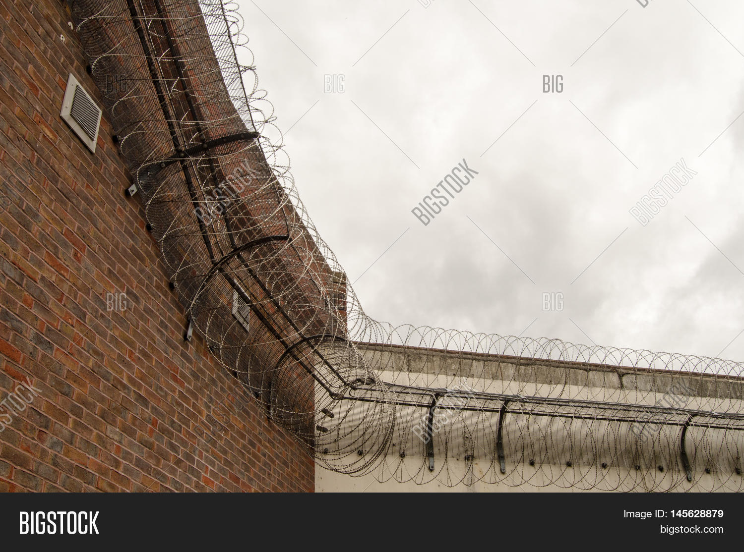 Looking Tall Wall Surrounding Image & Photo | Bigstock