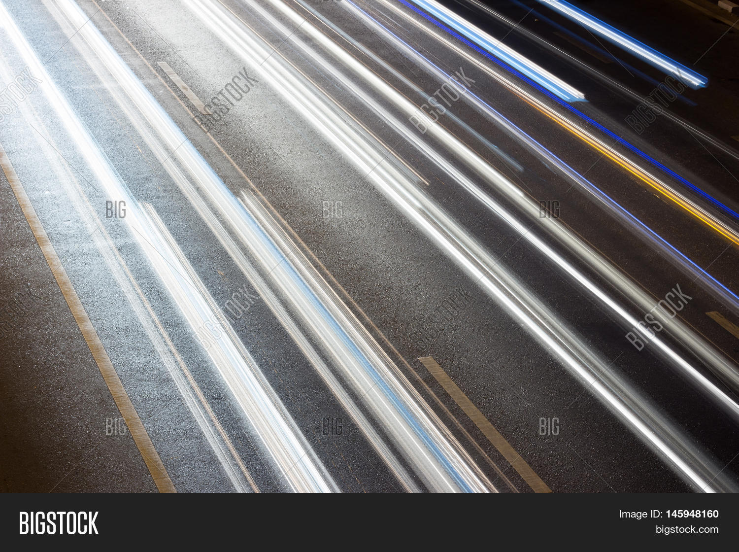 Light Blurred Light Car Abstract Image & Photo | Bigstock