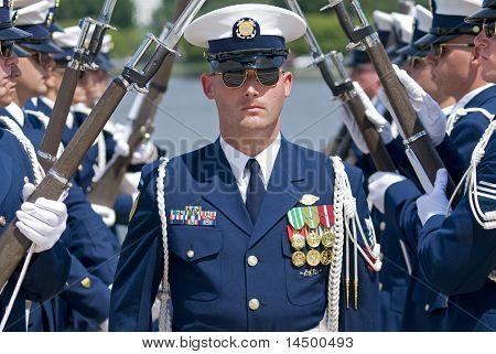 USCG Silent Drill Team