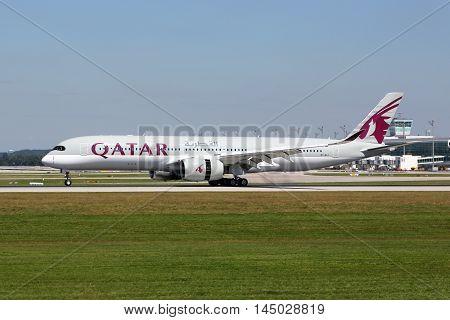 Qatar Airways Airbus A350-900 Airplane