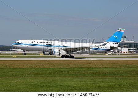 Kuwait Airways Airbus A330-200 Airplane
