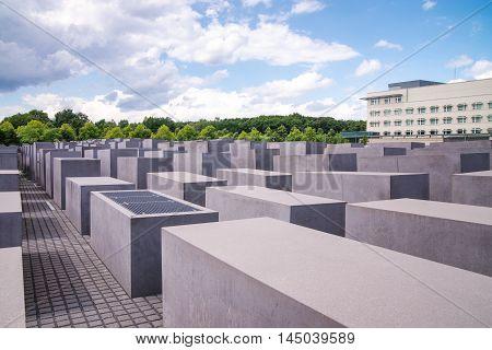 Jewish Holocaust Memorial Near Brandenburg Gate