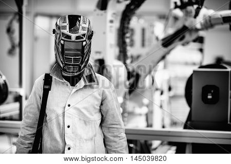 Man In Protective Workwear