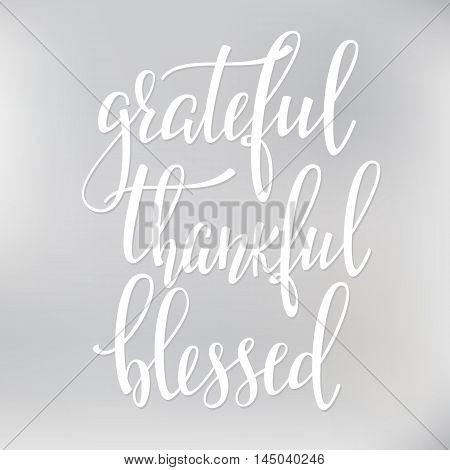 grateful thankful vector photo free trial bigstock