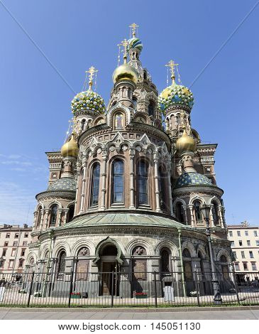 Church of the Savior on Blood. St-Peterburg. Summer time.