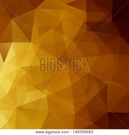 Abstract Background Consisting Of Brown Triangles, Vector Illustration