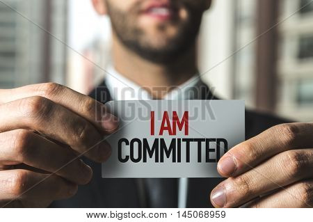 I Am Committed