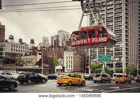Roosevelt Island Cable Tram