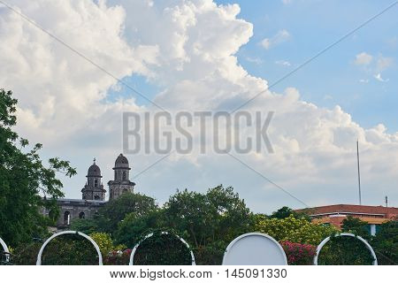 Old Cathedral In Managua