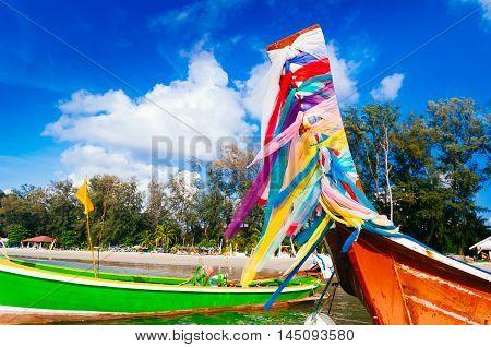 Long Tail Boat.,phuket,thailand.