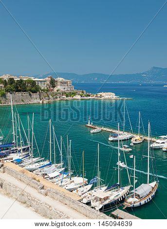 Marina Of Corfu Town