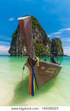 Long Tailed Boat,phuket Thailand