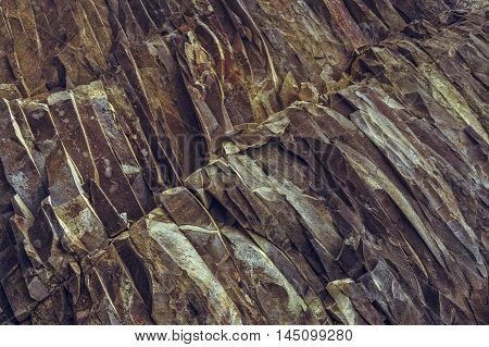 Ferric Rock Layers Background