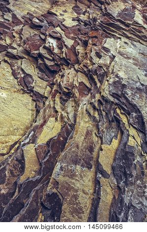 Ferric Rock Strata Closeup
