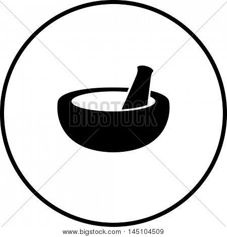 mortar and pestle symbol