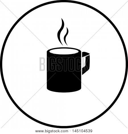 hot beverage mug symbol