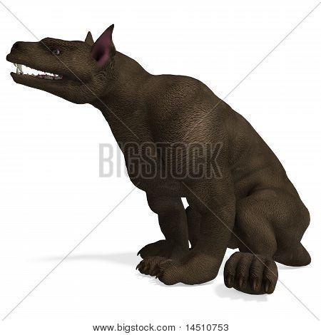 hellhound - a fantasy creature