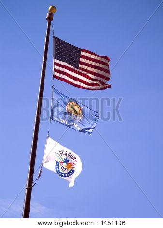 Okla State Flag