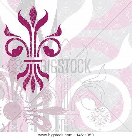 Fleur de Lys background