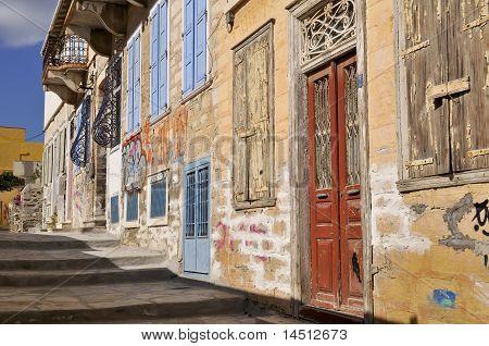Ermoupoli Back Street