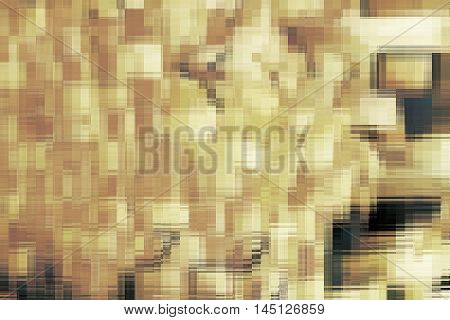 abstract of golden fractal texture for background used