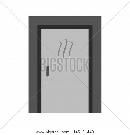 Room, steam, wet icon vector image.Can also be used for spa. Suitable for mobile apps, web apps and print media.