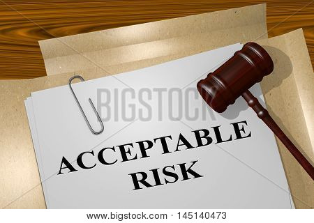 Acceptable Risk - Legal Concept