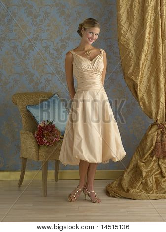 Evening Gown Interior