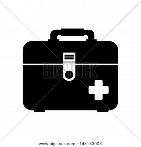 icon first aid kit medical isolated vector illustration eps 10