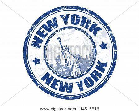 New York Stempel