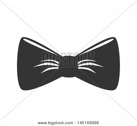 bow tie hipster retro vintage isolated vector ilustration eps 10