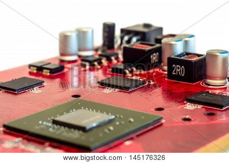 Big chip on the printed circuit board