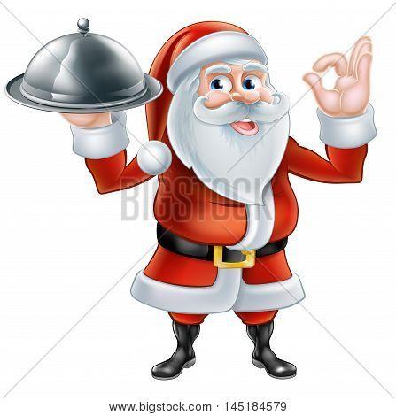 Santa Chef Christmas Dinner