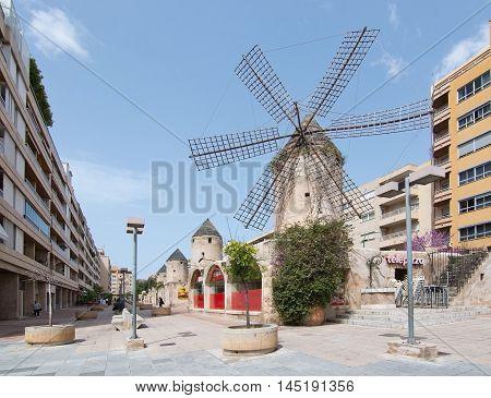 Windmill In Quattro Molinos