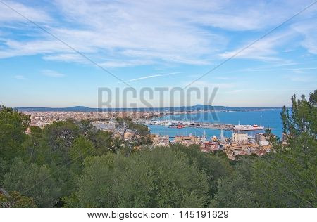 View Over Palma Bay