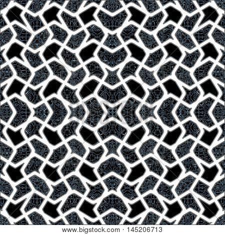 Interlace Oriental Style Pattern