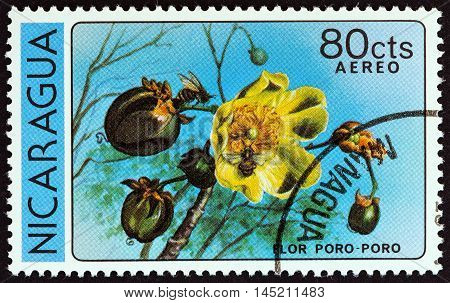 NICARAGUA - CIRCA 1979: A stamp printed in Nicaragua from the
